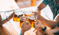 People Drinking Local Craft Beer